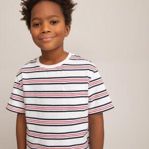 Camiseta de cuello redondo 3-14 años