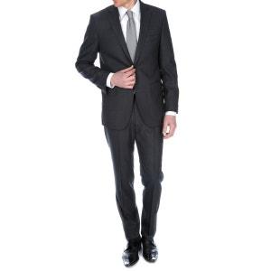 Costume semi-cintré en flanelle de pure laine Vitale Barberis Canonico BRUCE FIELD