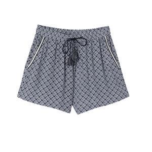 Beatrice Geometric Print Shorts SUNCOO