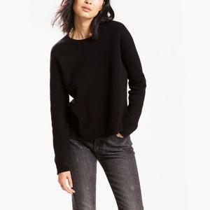 Trui in fijn tricot met ronde hals LEVI'S