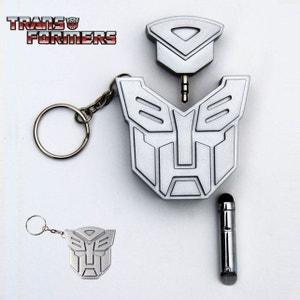 Porte-Clés Transformers Stylet et Double Prise Jack KAS DESIGN