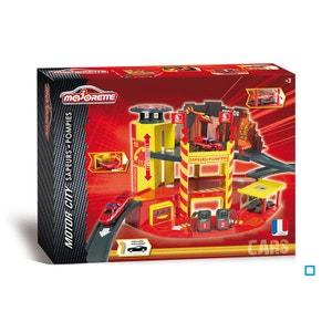 Garage Motor City Pompiers - SMO212058387 MAJORETTE