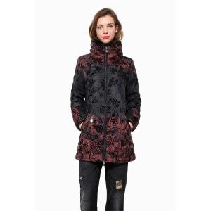 Manteau mi-long col montant DESIGUAL