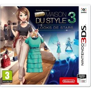 Nintendo présente : La Nouvelle Maison du Style 3 – Looks de Stars 3DS NINTENDO