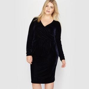 Velour Dress CASTALUNA