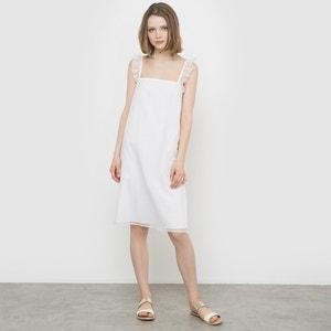 Vestido de gasa con efecto de encaje MADEMOISELLE R