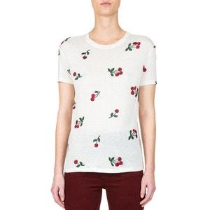 Bedrukt T-shirt met ronde hals en korte mouwen THE KOOPLES