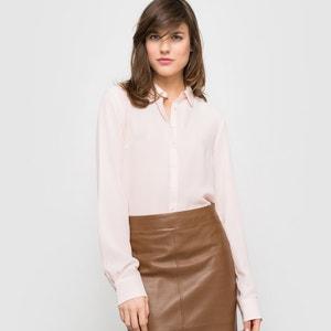 Long-Sleeved Silk Shirt atelier R