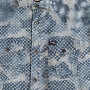 Bedrukt hemd PETROL INDUSTRIES