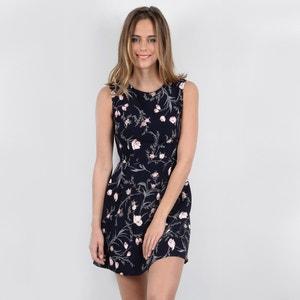 Wijduitlopende korte jurk met bloemenprint MOLLY BRACKEN