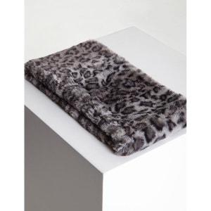 Snood effet fourrure léopard MORGAN