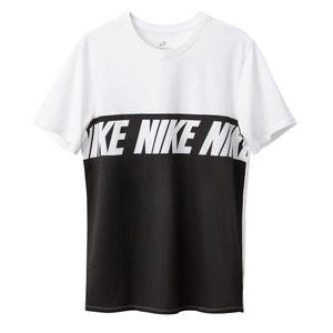 T-shirt scollo rotondo fantasia, maniche corte NIKE