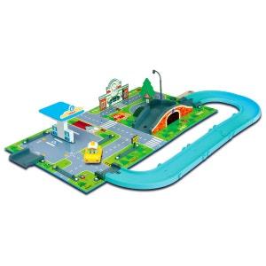 Aire de jeu 3D Robocar Poli : Station service Vroom Ville OUAPS
