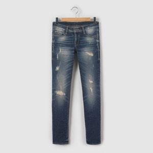 Jeans blu grezzo da 10 a 16 anni LE TEMPS DES CERISES