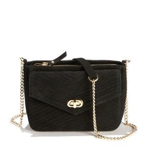 Messine Leather Flap Bag PETITE MENDIGOTE