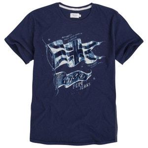 T-shirt Cashew con motivo fantasia PEPE JEANS