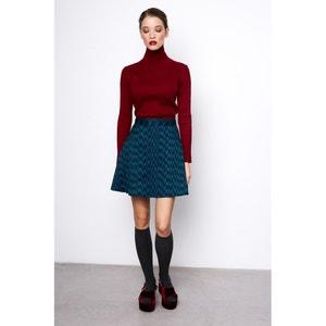 Jacquard Printed Skater Skirt COMPANIA FANTASTICA