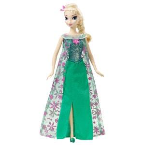 Poupée La Reine des Neiges (Frozen) : Une fête givrée : Elsa MATTEL