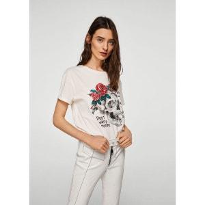 T-shirt coton rock MANGO