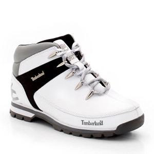 Boots en cuir à lacets 1460 TIMBERLAND
