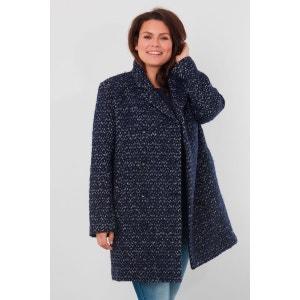 Manteau laine mélangée MS MODE