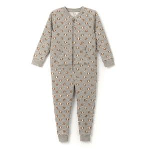 Combinaison pyjama molleton imprimé 2-12 ans La Redoute Collections