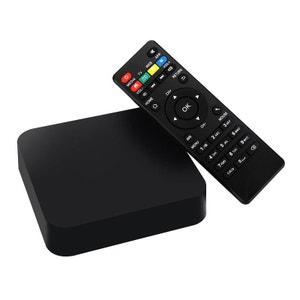 Mini PC Android TV Box Kodi média player 4K Smart TV 3D WiFi 8Go Noir Yonis