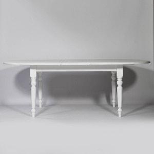 Table Ovale Calvi 180 à rallonges en bois massif  |  N524GM MADE IN MEUBLES