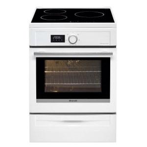Cuisinière à induction BCI6641W blanc BRANDT