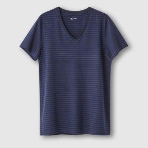Striped V-Neck T-Shirt R édition