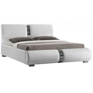 Lit Design Blanc Vitara 160X200 Cm DECLIKDECO