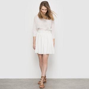 Smocked Skirt with Elasticated Waist MADEMOISELLE R