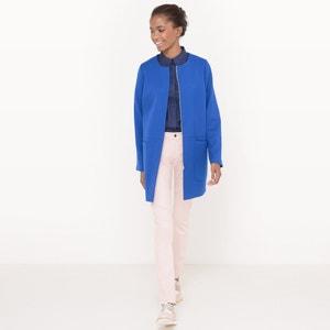 Manteau sans col R essentiel
