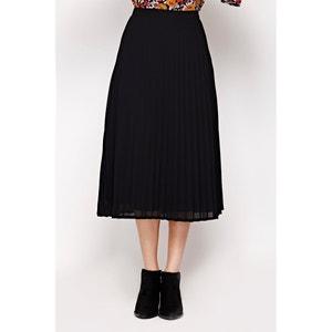 Falda plisada con largo por las rodillas YUMI