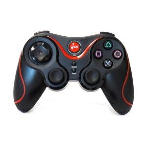 Hobbytech - manette de jeu sans fil pour Playstation 3 - Noire et rouge HOBBY TECH