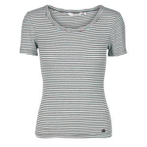 Gestreept T-shirt met korte mouwen, ronde hals NUMPH
