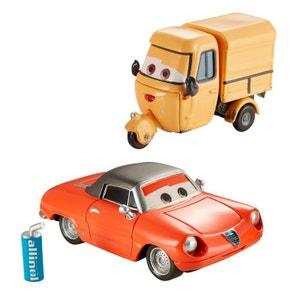 Voitures Cars : Coffret 2 véhicules : Shawn Krash et Sal Machiani MATTEL