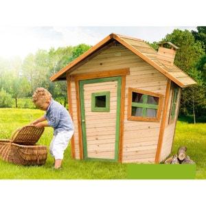 Maison maisonnette enfant la redoute for Cabane enfant bois occasion