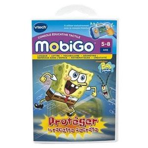 Jeu pour console de jeux Mobigo : Bob l'Eponge VTECH