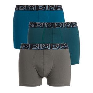 Boxers POWERFULL em algodão stretch, lote de 3 DIM