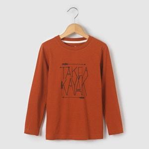 Camiseta manga larga estampado Kayak 3-12 años abcd'R