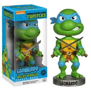 Les Tortues Ninja - Figurine Wacky Wobbler Bobble Head Leonardo 15 cm FUNKO
