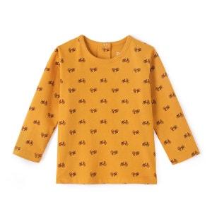 Tee shirt col rond imprimé Oeko Tex La Redoute Collections