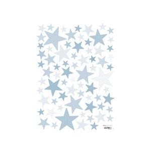Sticker enfant Etoiles Bleu Bébé - Lilipinso LILIPINSO