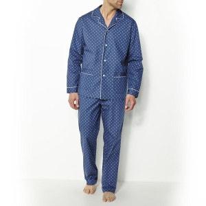 Printed Cotton Poplin Pyjamas TAILLISSIME