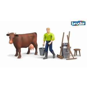 Bruder 62605 Set de figurines de la ferme BRUDER
