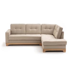 Canapé d'angle convertible coton/lin Bultex, Ajis La Redoute Interieurs