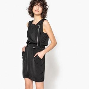 Bedrukte, rechte korte jurk zonder mouwen KAPORAL 5