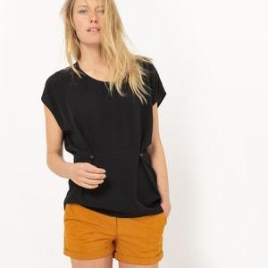 Soepele blouse met korte mouwen R essentiel