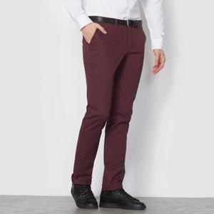Pantalon chino stretch coupe droite La Redoute Collections